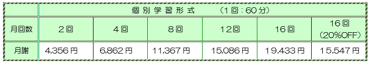 2019_消費税10%月謝コース